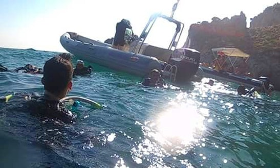 Rib Diving Trips In Sperlonga, Italy