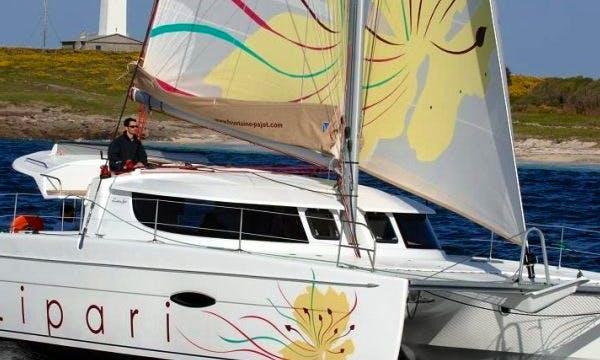 Charter Lipari 41 Catamaran In Saint-Tropez