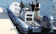 Wildlife Tours in Marseille, France on a 25' RIB