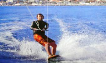 Wakeboarding in Marseille, France