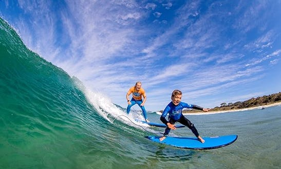 Surf Lessons In Umina Beach