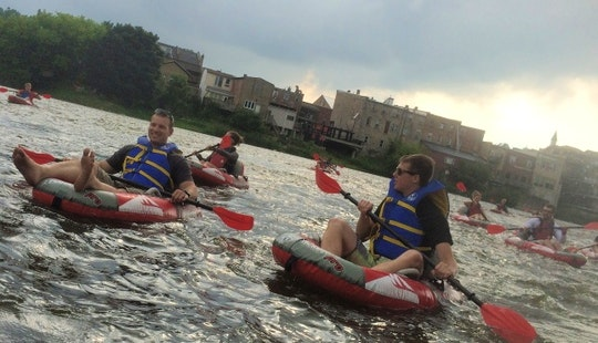 Enjoy River Tubing Tour In Brant, Ontario