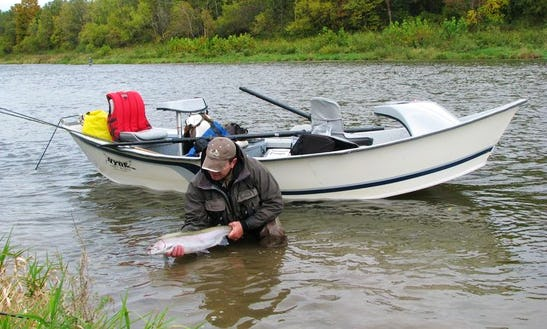 Enjoy Fishing In Brant, Ontario On Drift Boat