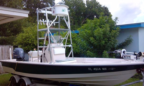 Center Console Boat Fishing Charter In Indian Shores