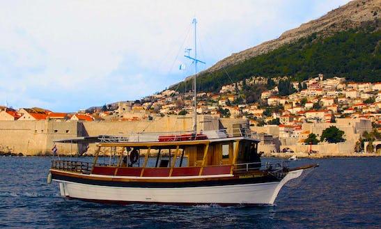 M/b Mara Passenger Boat Tour In Dubrovnik