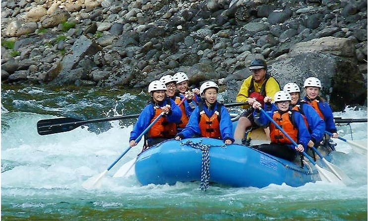 White Water Rafting In Nelson