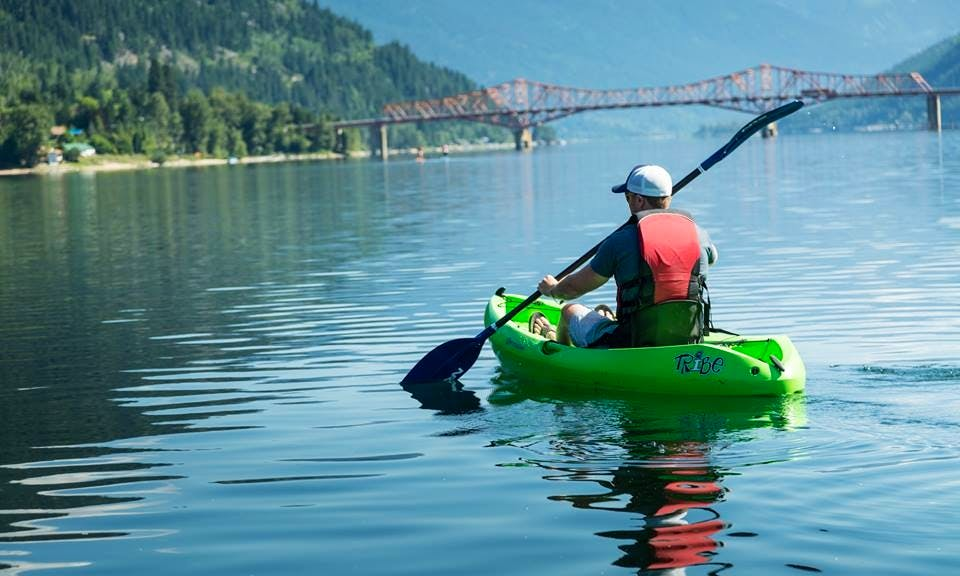 Sigle Kayaks Rental In Nelson