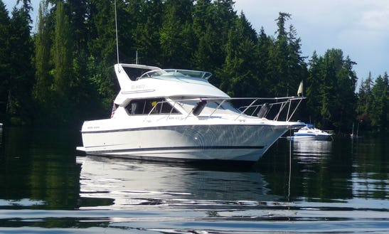 28ft Motor Yacht Rental In Seattle, Washington