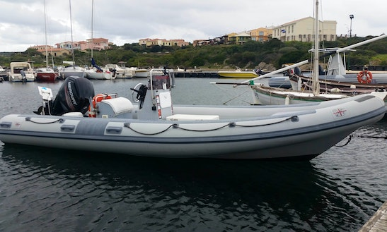 Master 650 Boat Fishing Charters In Stintino, Italy