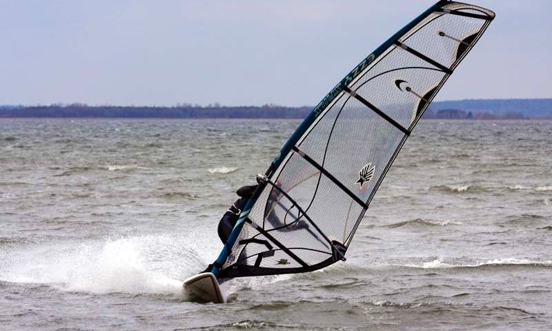 Windsurfing in Nowe Guty