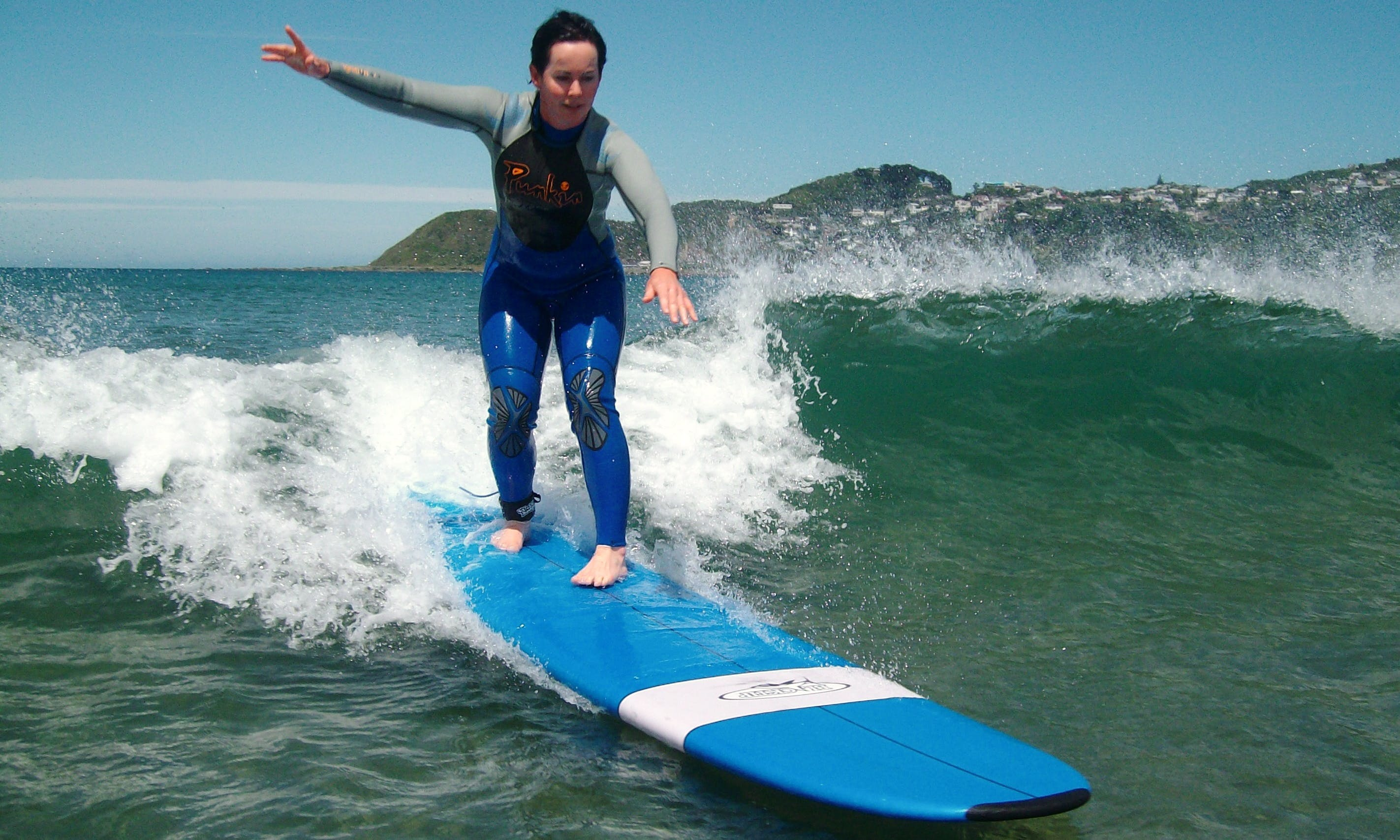 Surfing in Kaikoura - New Zealand