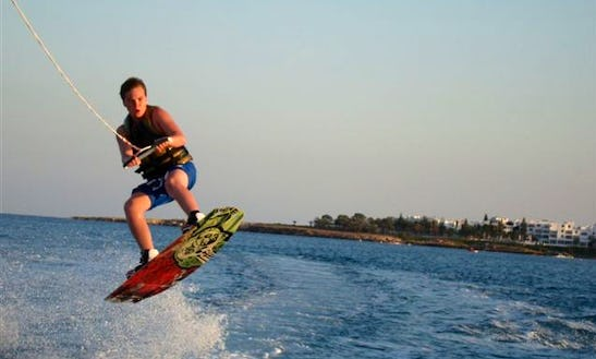Wakeboarding In Pernera