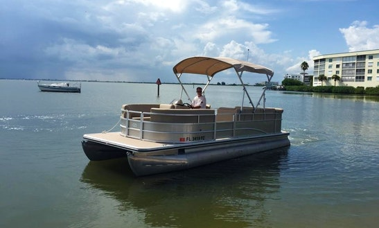 Pontoon Charter In Cocoa Beach, Florida