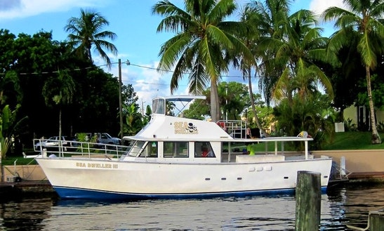 Boat Diving Trips Aboard 'sea Dweller Iii' In Key Largo, Florida