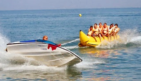 Banana Boat In Kuta Utara