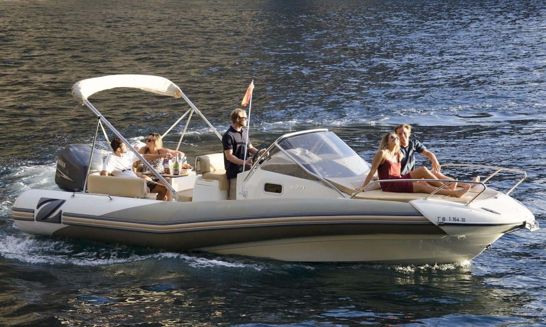'Alse III' Zodiac Boat Trips in Costa Adeje