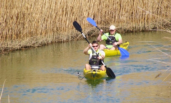 Single Kayak Rental In Barban, Croatia