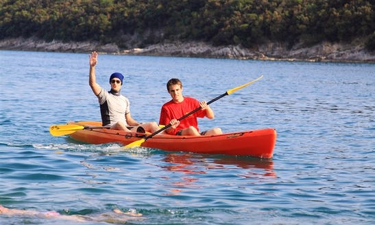 Tandem Kayak Rental In Barban, Croatia