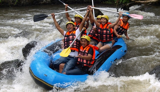 Memorable White Water Rafting Adventure In Denpasar Timur, Indonesia