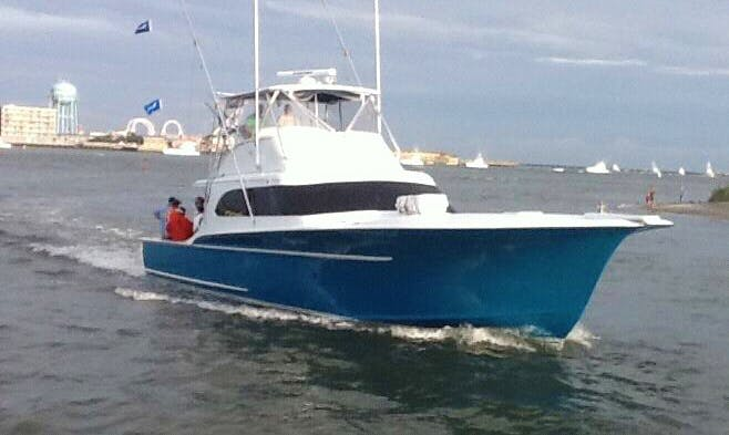 "Charter on 62ft ""The Playmate"" Carolina Sport Fisherman Boat in Ocean City, Maryland"