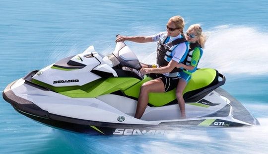130 Hp Sea Doo Gti And 110 Hp Yamaha Waverunners For Rent Or Safari In Rhodes