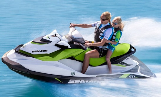 130hp Sea Doo Gti And 110hp Yamaha Waverunners For Rent Or Safari In Rhodes