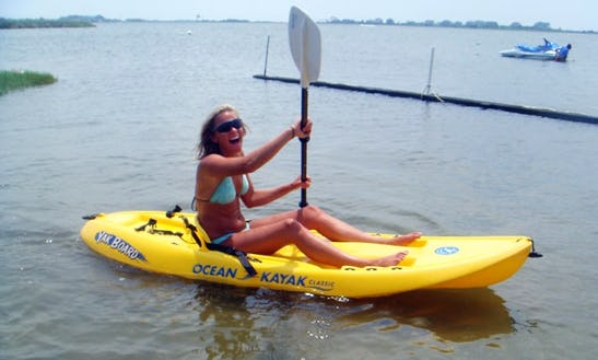Single Kayak Rental In Ocean City, Maryland
