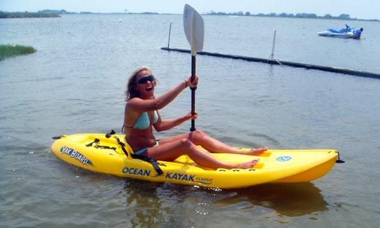 Single Kayak Rental In 10 Ocean City