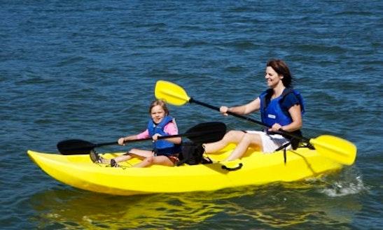 Double Kayak Rental In 10 Ocean City