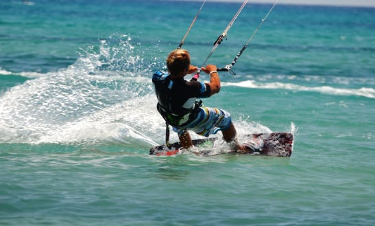 Kiteboarding In Attadale, Australia