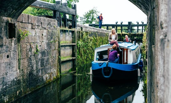 Grand Canal Cruise In Kildare, Ireland