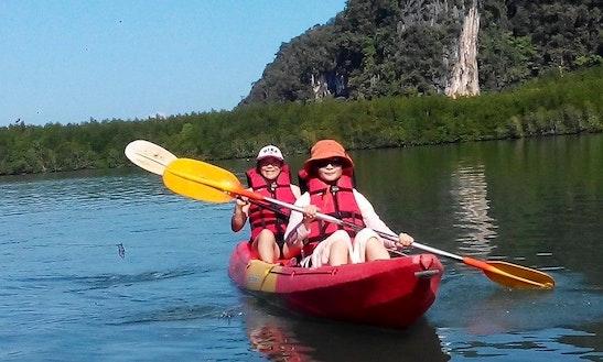 Amazing Double Kayak Tours In Tambon Pak Nam, Thailand