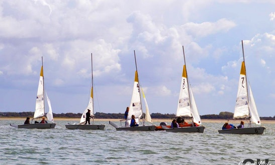 Dinghy Sailing Lessons In Portsmouth