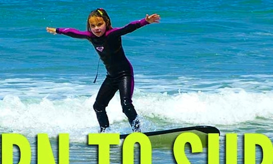 Surf Lessons In Lakes Entrance