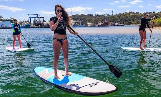 Paddleboard In Lakes Entrance