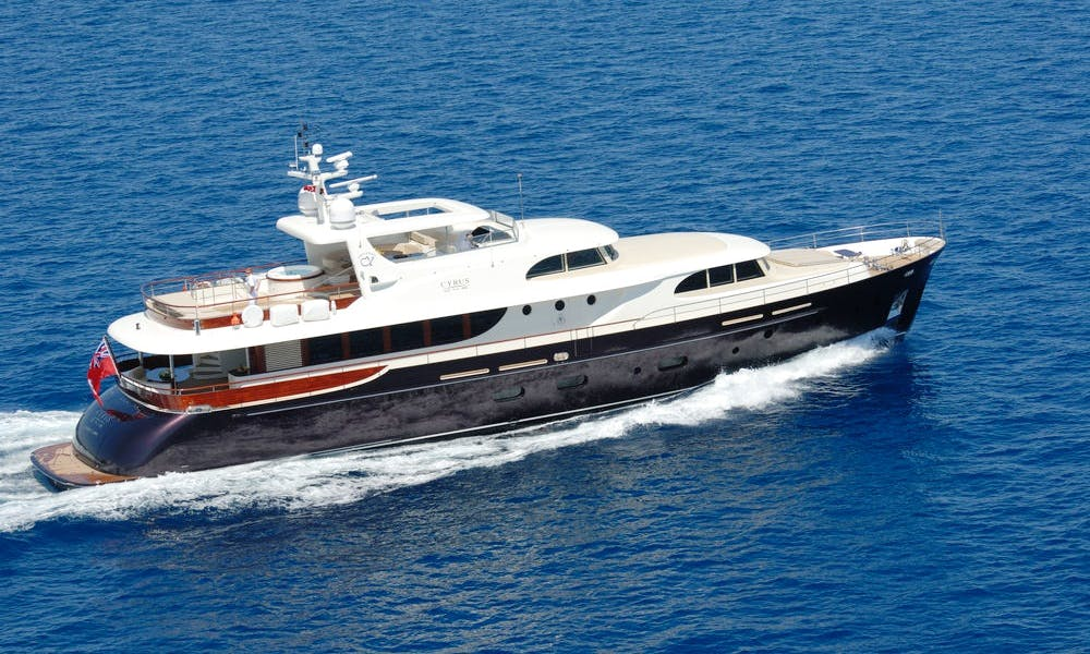 Cyrus One Power Mega Yacht Charter in Pula
