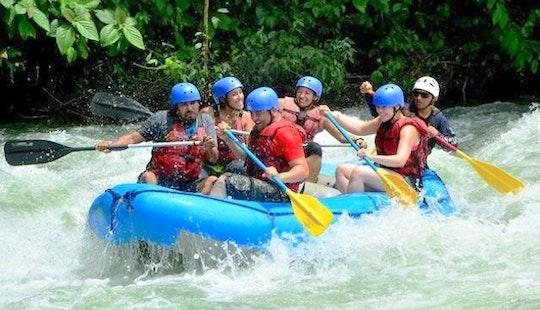 White Water Rafting At  Ayung River Ubud Bali