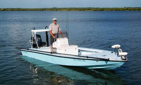 Flat Boat Fishing Charter In Edgewater - Florida Usa