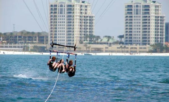 Parasailing In Dunedin - Florida Usa