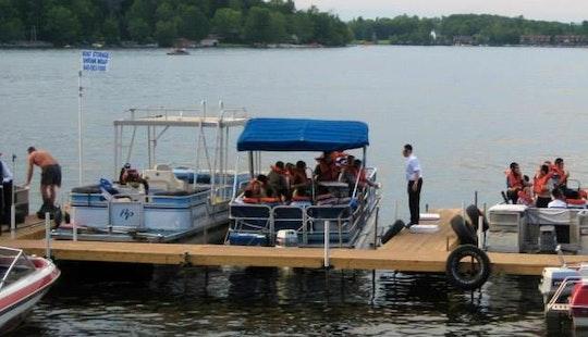 Pontoon Boat Rental In Bethel