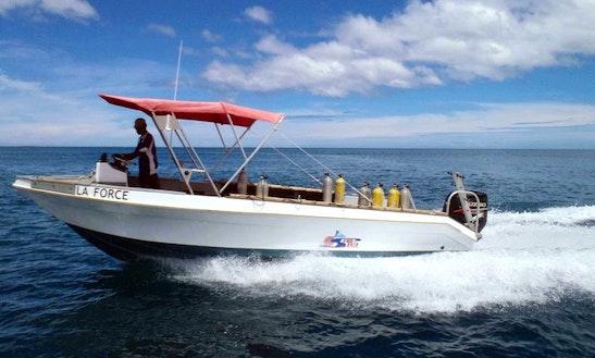 'la Force' Boat Diving Trip & Padi Courses In Fiji