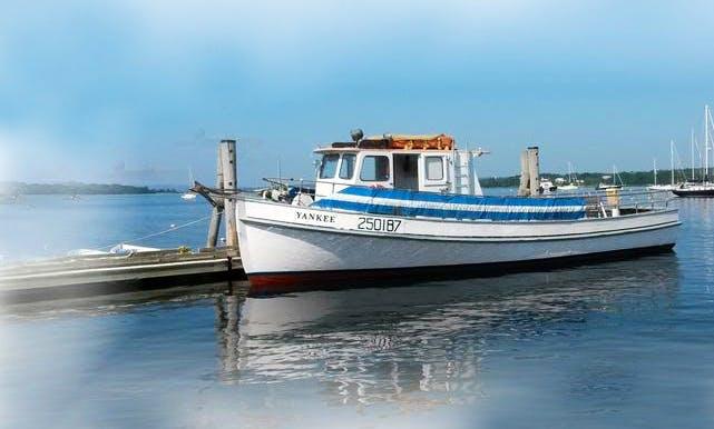 "Charter 46ft Motor Vessel ""Yankee"" In Stockton Springs, Maine"