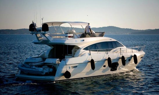 Ferretti 592 Power Mega Yacht Charter In Sukošan