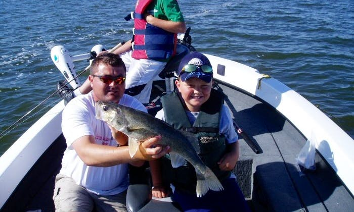 Guided Fishing Trip In Devils Lake