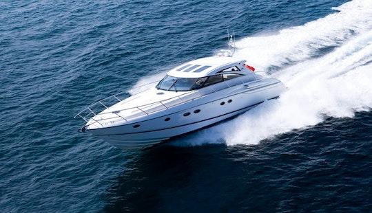 'devotion Ii' Princess V58 Mega Yacht Charter In Pula