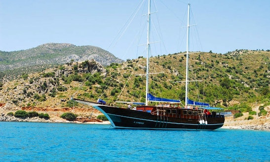 'a. Candan' Turkish Gulet Charter In Marmaris