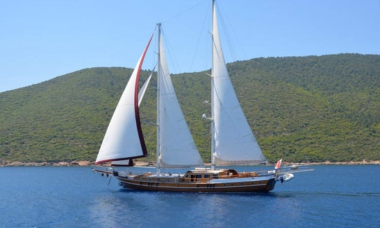 'queen Of Karia' Turkish Gulet Charter In Bodrum