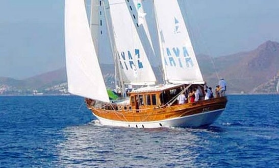 'ayaz' Turkish Gulet Charter In Bodrum