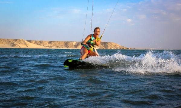 Kiteboarding in Poole, United Kingdom