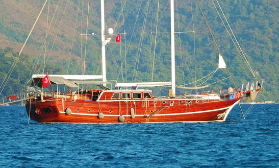 'kaptan Mehmet Bugra' Turkish Gulet Charter In Marmaris